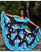 Robe sega Femme, ensemble sega maloya pro, Textile Réunion -  Colis letchis reunion