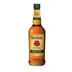BOURBON FOUR ROSESSolo Four Roses hace a mano 10 recetas distintas y extraordinarias de Bourbon luego se agita a mano para crea