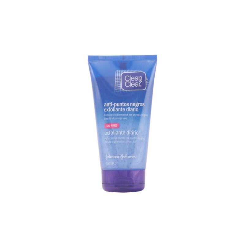 CLEAN & CLEAR PUNTOS NEGROS exfoliante diario 150 ml