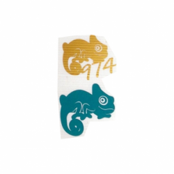 Sticker autocollant Gecko...