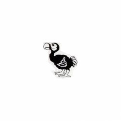 Sticker autocollant Dodo...