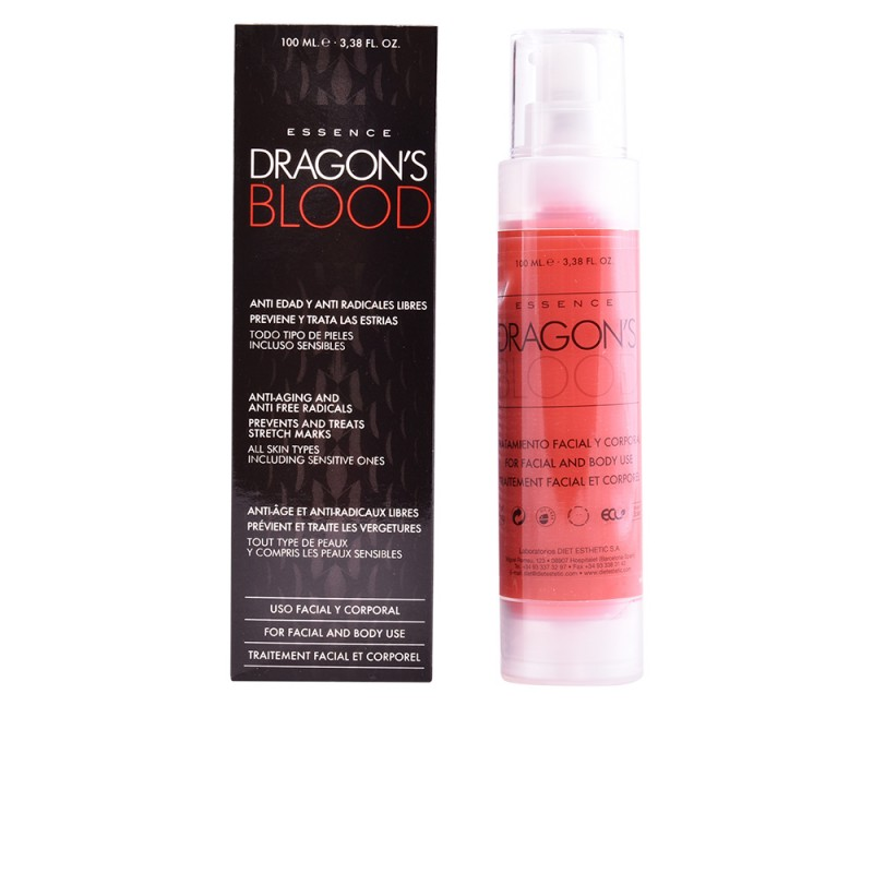 DRAGON'S BLOOD ESSENCE anti-aging and anti free radic 100 ml