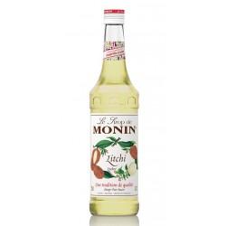 Sirope Litchi MoninEl Jarabe de Lichi Lychee MONIN tiene un sabor dulce y exotico un aroma similar al melon y un color dorado b