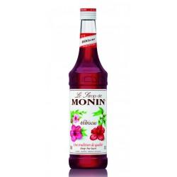 Sirope Monin Hibiscus El Sirope Monin Hibiscus es la manera perfecta para anadir un delicioso sabor a varias bebidas Esta elabo
