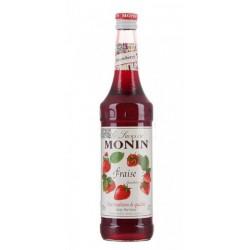 Sirope Monin Fresa El Sirope Monin Fresa es uno de los primeros sabores desarrollados para la gama de siropes Monin puede ser u