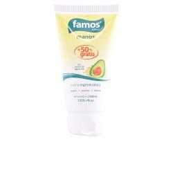 FAMOS crema manos regeneradora aceite de aguacate 75 ml