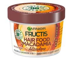 FRUCTIS HAIR FOOD macadamia masque alisadora 390 ml