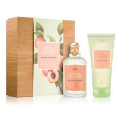 ACQUA eau de cologne WHITE PEACH & CORIANDER COFFRET 2 pz