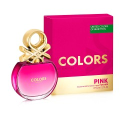 COLORS PINK edt vaporisateur 50 ml