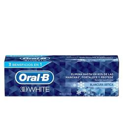 3D WHITE BLANCURA ARTICA pasta dentífrica 75 ml