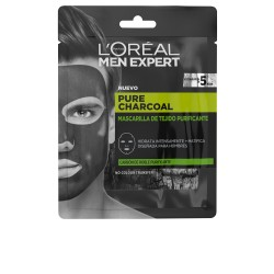 MEN EXPERT pure charcoal masque tejido purificante