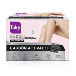 CARBON ACTIVADO cera divina depilatoria corporal 300 ml