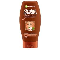 ORIGINAL REMEDIES acondicionador aceite coco y cacao 300 ml