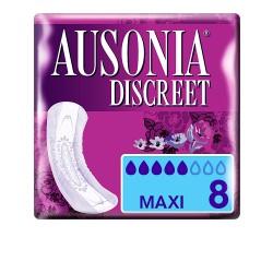 DISCREET compresas incontinencia maxi 8 uds