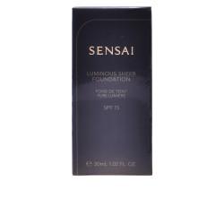 SENSAI luminous sheer foundation SPF15 102 ivory beig 30 ml