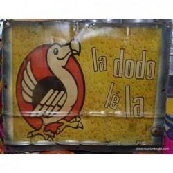 Plaque Métal Dodo
