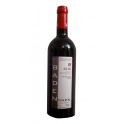 VINO TINTO BADEN NUMEN ROBLEEl vino tinto Baden Numen Roble esta elaborado con 100 uva Tempranillo y pertenece DO ribera del Du