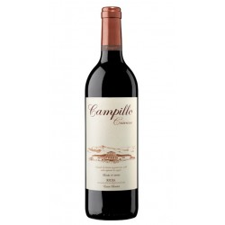 El vino tinto Campillo Crianza esta elaborado con uva Tempranillo y pertenece a la DO Calificada Rioja Las Bodegas Campillo per