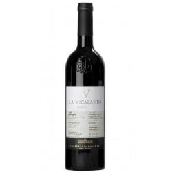 Vino Tinto La Vicalanda ReservaDenominacion de Origen DO RiojaVariedad TempranilloCrianza el Vino Tinto La Vicalanda Reserva es