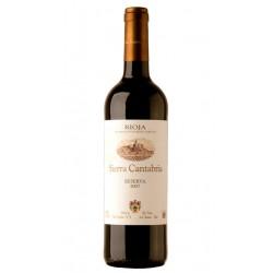 VINO TINTO SIERRA CANTABRIA RESERVAEl vino tinto Sierra Cantabria reserva esta elaborado con uva 100 Tempranillo y pertenece a