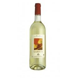 VINO BLANCO LARRuAEl vino blanco Larrua esta elaborado con uvas de las variedades Verdejo y Viura Pertenece a la DO Rueda Este