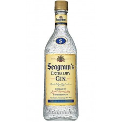 GINEBRA SEAGRAMS EXTRA GINTambien conocida como The Perfect Gin Se destila desde 1857 en Lawrenceburg Indiana USA Seagramacutes
