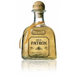 Tequila Patron AnejoEl Tequila Patron Anejo procede de Mexico es un tequila ultra prenium elaborado a partir de un 100 agave az