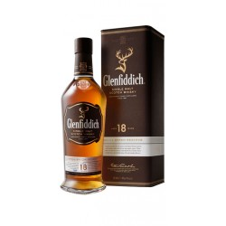 WHISKY GLENFIDDICH 18 ANOS Es un suave whisky de malta escoces con anos de maduracion en barricas de los mejores Oloroso de Jer