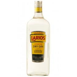 GINEBRA LARIOS 1 LITRO LONDON DRY GIN La Ginebra Larios 1 litro tiene dos destilaciones cuyos ingrediente son en la primera Bay
