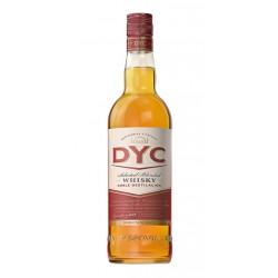 WHISKY DYC 5 ANOS BOTELLA 1 LITROEs un whisky blend de varios granos envejecidos separadamente durante un minimo de tres anos e