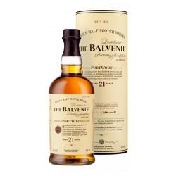 Whisky The Balvenie 21 anosThe Balvenie Distillery Company elabora este whisky madurandolo durante 21 anos en barricas de roble