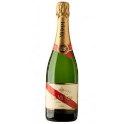 CHAMPAGNE GH MUMM CORDON ROUGEChampagne GH Mumm Cordon Rouge esta elaborado con un 45 de Pinot Noir un 25 de Pinot Meunier y 30