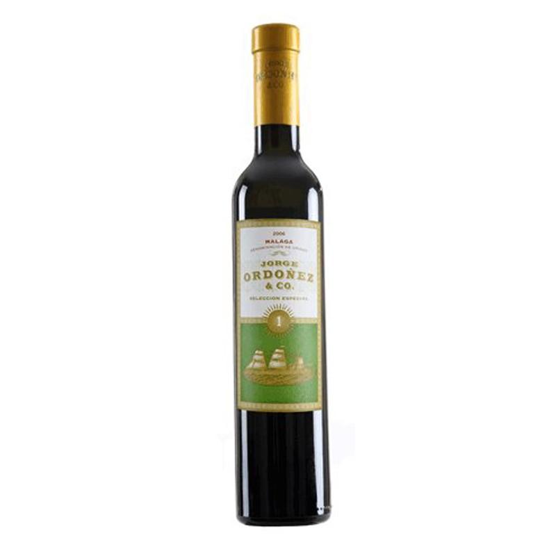 MOSCATEL JORGE ORDONEZ SELECCIoN Nº 1 2010 375CL El Moscatel Jorge Ordonez Seleccion Nº1 2010 esta elaborado con uva 100 Moscat