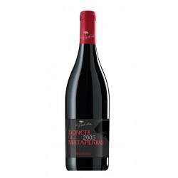 Vino Tinto Doncel de MataperrasVariedad de la uva utilizada es 100 Tinta Del Pais que procede de las cepas mas antiguumlas de e