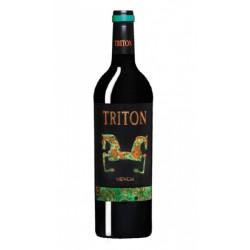 Vino tinto Triton MenciaVariedad de la uva utilizada es 100 Mencia Pertenece a los Vinos de la Tierra de Castilla y Leon Este v