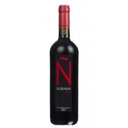 Nombre VINO TINTO MUNANA N ROJODenominacion de Origen Vino de la Tierra Altiplano de Sierra NevadaVariedad Tempranillo Cabernet