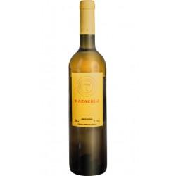 Nota de cata de Vino Blanco MazacruzVariedad de la uva utilizada es 70 Verdejo y 30 Sauvignon BlancPertenece a Vinos de la Tier
