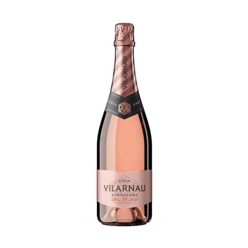 Cava Vilarnau Brut Rosado Ecologico es un vino espumoso con Denominacion de Origen Cava muy interesante debido a su caracter ta