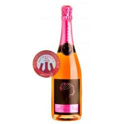 Cava Bisila RoseEste vino pertenece a los vinedos y bodegas Ladron de Lunas y tiene una Denominacion de Origen CavaEsta compues