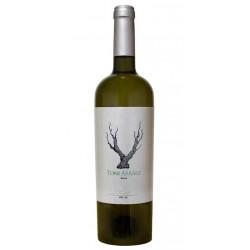 El Vino Blanco Los Arraez Verdil con Denominacion de Origen DO Valencia tiene las  Variedades de uva 80 Verdil 20 Moscatel Malv