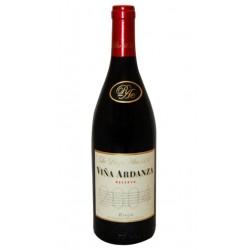 Vino Tinto Vina Ardanza Reserva Denominacion de Origen DO RiojaVariedad 80 es Tempranillo y el 20 GarnachaCrianza el Vino Tinto