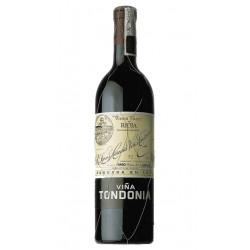 Vino Tinto Vina Tondonia ReservaDenominacion de Origen DO RiojaVariedad Tempranillo Garnacha Graciano y MazueloCrianza el Vino