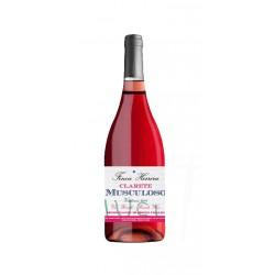 Vino Rosado Clarete Musculoso Es un vino goloso y frutal que esta elaborado con uva Tempranillo 85 Garnacha 10 Verdejo y Albill