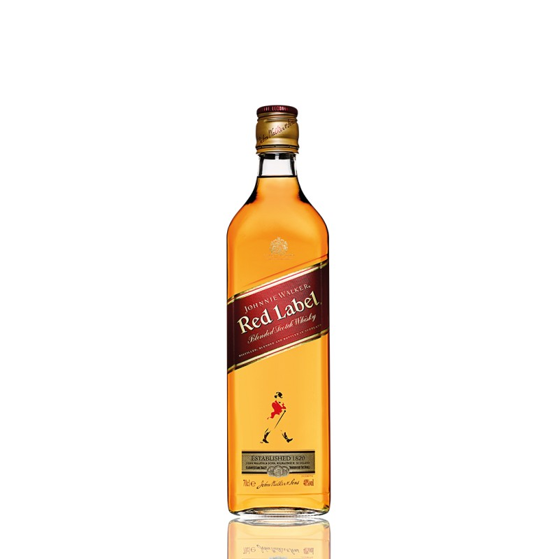 Whisky Johnny Walker Red LabelEl Whisky Johnny Walker Red Label es la carta de presentacinon de la marca de destilerias John Wa