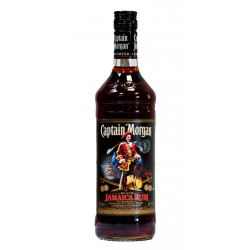 Ron Captain Morgan BlackRon Captain Morgan Black es un ron elaborado en Jamaica usando barricas de bourbon de roble blanco amer
