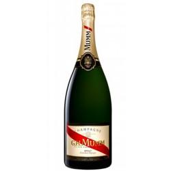 CHAMPAGNE GH MUMM CORDON ROUGE MAGNUM 15LEl Champagne GH Mumm Cordon Rouge Magnum 15L esta elaborado a partir de un 45 de Pinot