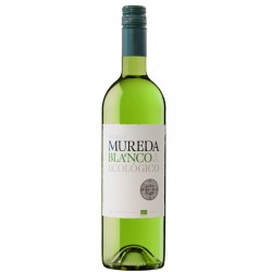 Vino Blanco Ecologico MuredaEl Vino Blanco Ecologico Mureda esta elaborado con 3 tipos de uva Chardonnay Sauvignon Blanc y Verd