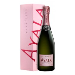 Champagne Ayala Rose Majeur Con EstucheChampagne Ayala es una de las Casas de champan mas antiguas se ha instituido en Ayuml en