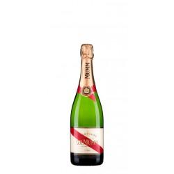 Champagne GH Mumm Cordon Rouge 375ml El Champagne GH Mumm Cordon Rouge 375ml esta elaborado con un 45 de Pinot Noir un 25 de Pi