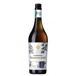 Vermouth La Quintinye Blanc El Vermouth La Quintinye Blanc esta elaborado con una seleccion de 18 plantas y especias junto con